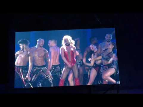 Britney Spears Live in Taiwan taipei encore Till the world ends&work bitch
