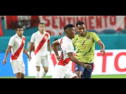 Colombia vs Peru (resumen) - Amistoso Internacional 2019