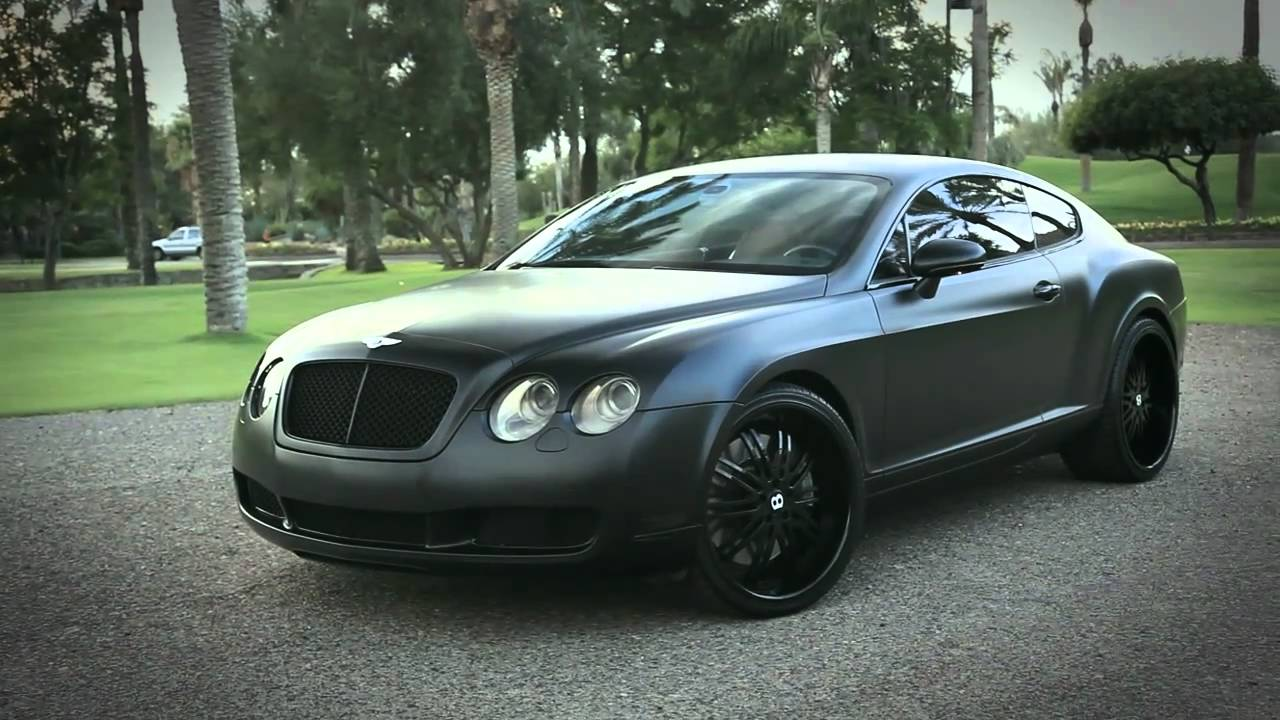 2017 Bentley Continental Gt W12 >> Blacked out Bentley Continental GT - YouTube