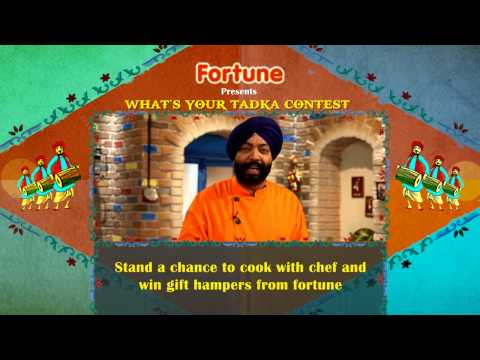 "Fortune ""What's your Tadka"" Recipe Contest"