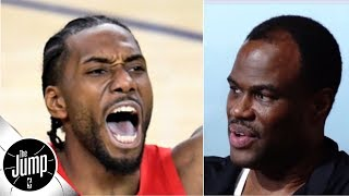 David Robinson enjoyed watching Kawhi lead the Raptors to a title (even if it hurt) | The Jump