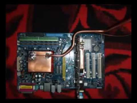 Freon Cpu Cooling Youtube