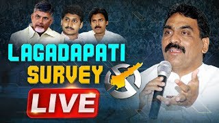 Lagadapati Rajagopal Flash Survey - Live..