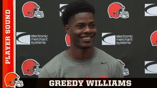 Greedy Williams: I got rid of all my nerves after I caught my first pick   Cleveland Browns