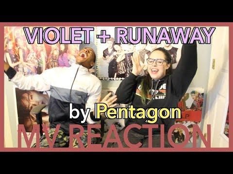 'VIOLET + RUNAWAY' by PENTAGON | MV REACTION | KPJAW