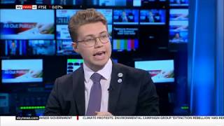 """Robin, """"I mean the potential extinction of the human race"""" Sky News April 17 - Extinction Rebellion"""
