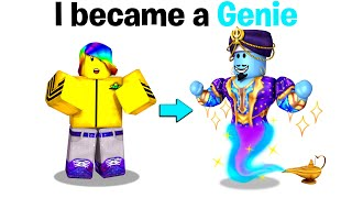 I became a GENIE in BrookHaven! 🧞♂️💫⭐(Roblox)