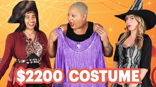 $17 Vs. $2200 Halloween Costume