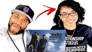 TEEN DAUGHTER REACTS TO DAD'S 90'S HIP HOP RAP MUSIC | Naughty By Nature - Uptown Anthem