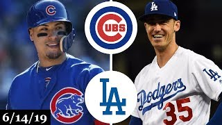 Chicago Cubs vs Los Angeles Dodgers - Full Game Highlights | June 14, 2019 | 2019 MLB Season