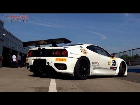 SB Race Engineering: Ferrari 360 Challenge at Donington