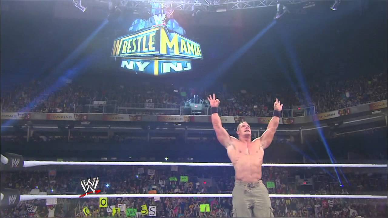 John Cena Reveals What He Told The Rock After WrestleMania 29 Main