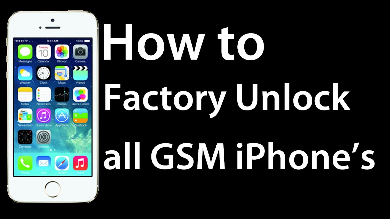 how to unlock iphone 5c how to factory unlock all apple iphone 5s 5c 5 4s 4 17288