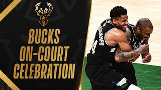 Milwaukee Bucks Celebrate First Finals Win in 50 Years! 🎉
