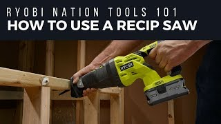 Video: 18V ONE+™ Reciprocating Saw with Anti-Vibe Handle