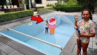OUR NEW SWIMMING POOL!!