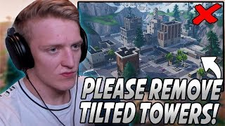 Tfue Explains Why Tilted Towers Is AWFUL And NEEDS To Be REMOVED From Fortnite...