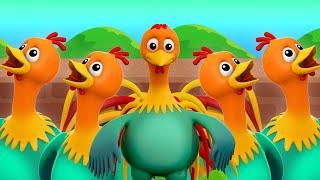 dedo familia Gallo   canciones para niños   rimas de bebe   Rooster Finger Family   Children Rhymes