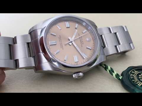 video Rolex Oyster Perpetual 36 – 116000 (White Grape Sunray Dial)