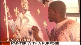 Kehinde Wiley, a painter changing the image of black men
