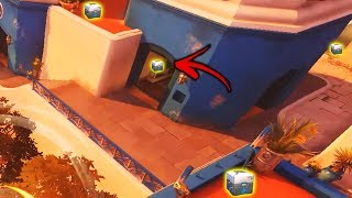 AMAZING *NEW* Treasure Hunt Game Mode..!! - Overwatch Workshop Funny & Fail Moments #8