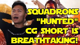 """Star Wars: Squadrons – """"Hunted"""" CG Short LIVE REACTION - PREMIERE"""