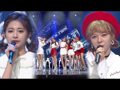 《ADORABLE》 TWICE(트와이스) - Merry & Happy @인기가요 Inkigayo 20171217
