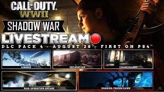 "NEW COMMANDO DIVISION! NEW DLC 4 ""SHADOW OF WAR"" on WW2! (WW2 Shadow of War)"