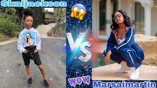 Skaijackson vs marsaimartin(hard battle) must watch 😱🔥