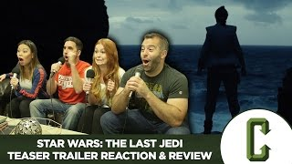Star Wars: The Last Jedi Teaser Trailer Reaction & Review