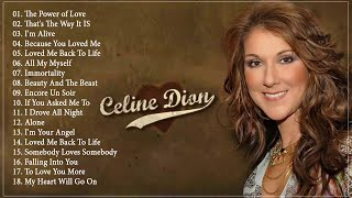 Celine Dion Greatest Hits playlist - Celine Dion Best Love Songs - Best of Celine Dion 2020