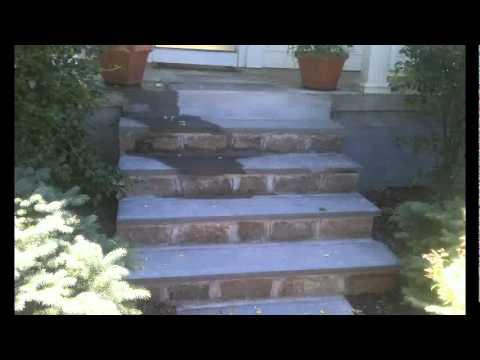 Replacement of Bluestone Walkway & Steps