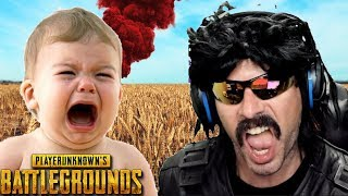 DrDisRespect plays with Non-English Speaker on Battlegrounds!