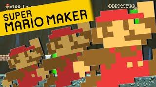 Super Mario Maker | 100 MARIO CHALLENGE!!