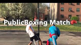 Put On The Gloves🥊(Public Boxing Match)