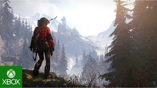 Rise of the Tomb Raider - Descent into Legend - Játékmenet Trailer