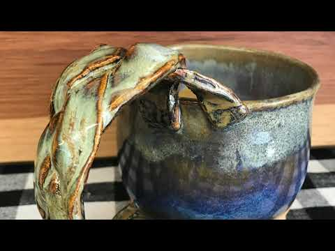 Joshua Conway from Marlow, OK, uses his talents as a potter and painter to turn clay into beautiful works of art.