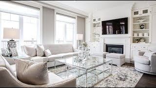 Living and Dining Room Makeover / Reveal - Kimmberly Capone Interior Design