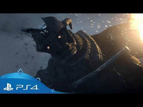 Shadow of the Colossus | Reveal Trailer | PS4