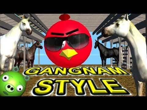 Baixar ANGRY BIRDS dance GANGNAM STYLE   ♫ 3D animated mashup parody ☺ FunVideoTV - Style ;-))