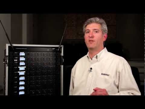 Shure ULX-D Digital Wireless System: Quad and Dual Receivers