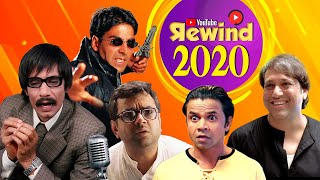Youtube Rewind 2020 - Best Of Bollywood Comedy - Non Stop Comedy Scenes - Bollywood Best Comedians