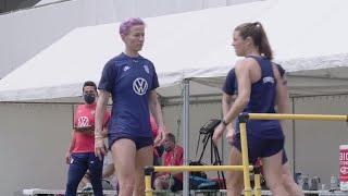 MIC'D UP: Megan Rapinoe at Olympic Pre-Camp