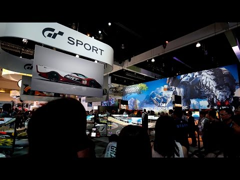 E3 VIP Experience: PlayStation Booth Tour