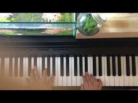 枯葉Autumn Leaves→簡単なことだけしかぜずにアドリブ(初心者) ソロジャズピアノ