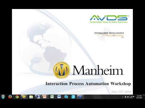Interaction Process Automation: Overview and Demo mp4