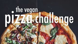 THE VEGAN PIZZA CHALLENGE | hot for food