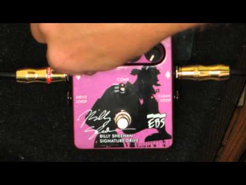 Billy Sheehan Signature Drive Pedal demo.. setting samples