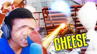I WANT YOUR CHEESE | FORTNITE VOICE TROLLING RANDOMS (FUNNY REACTIONS)