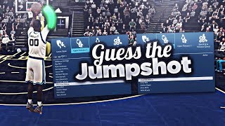 IMPOSSIBLE GUESS THAT JUMPSHOT CHALLENGE